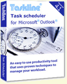 Outlook task management software box shot
